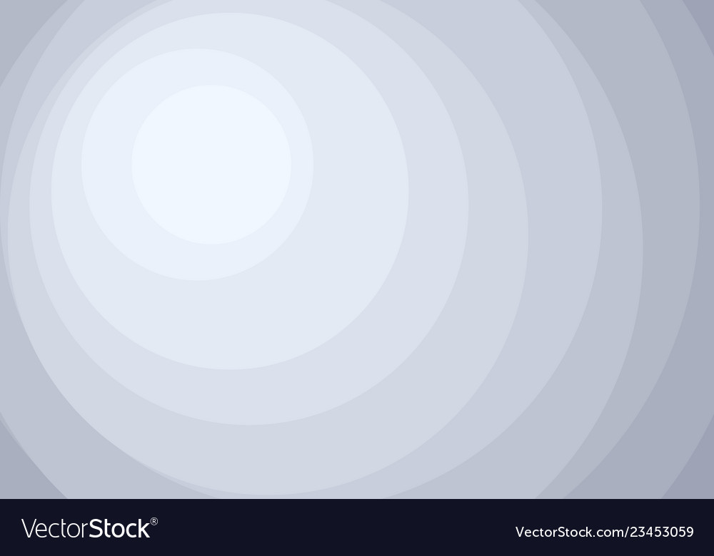 Abstract white and gray circles layers pattern