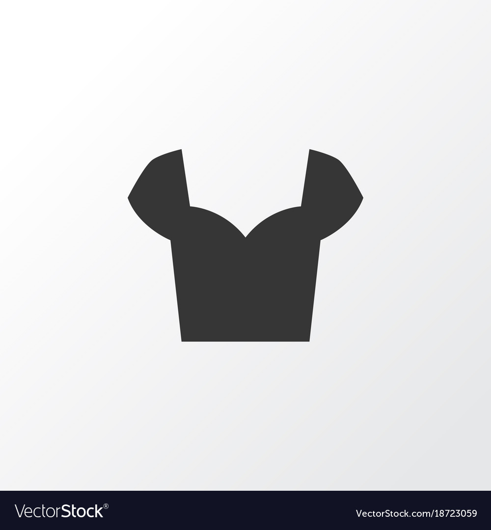 Blouse icon symbol premium quality isolated shirt vector image