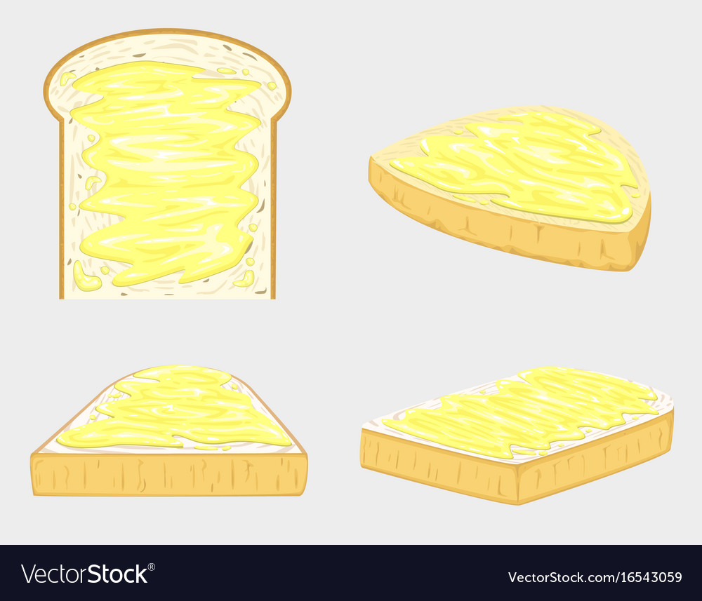 Butter bread and