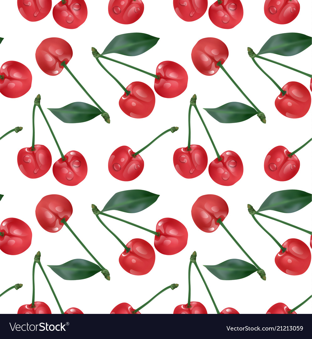 Cherry seamless pattern good for textile