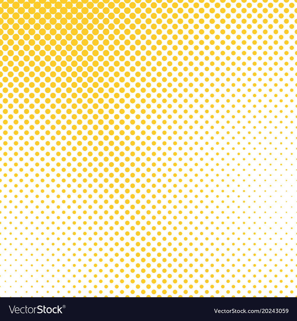 Retro halftone dotted pattern background template