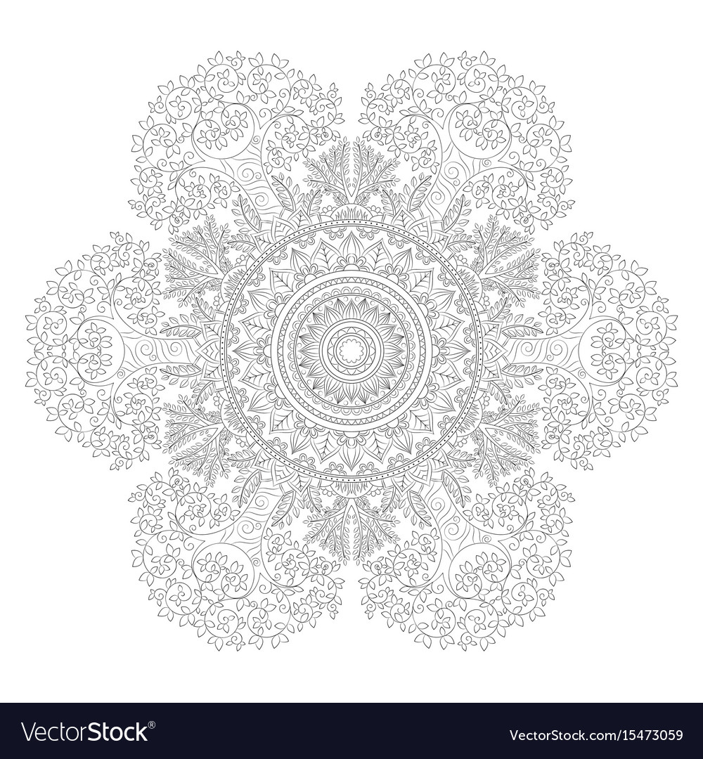 Zentangle Background Wallpaper Texture Pattern Vector Image