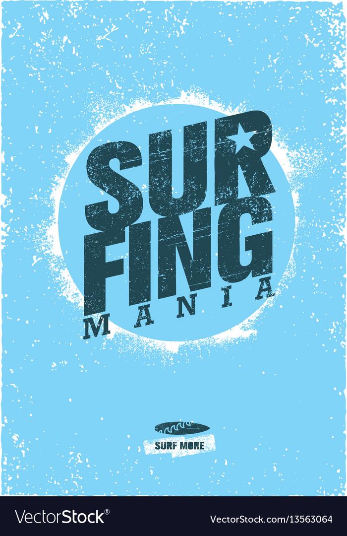 Catch the wave creative surf motivation
