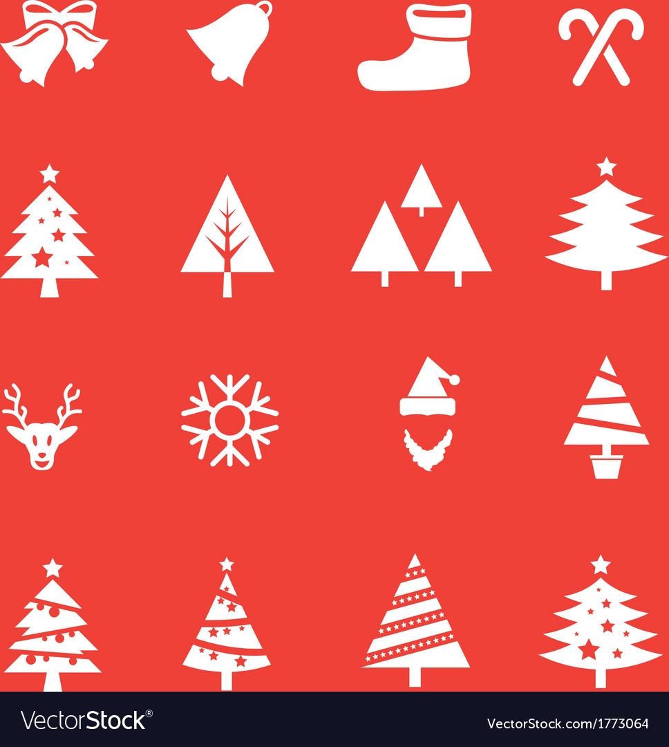 Set of Christmas icon vol 1