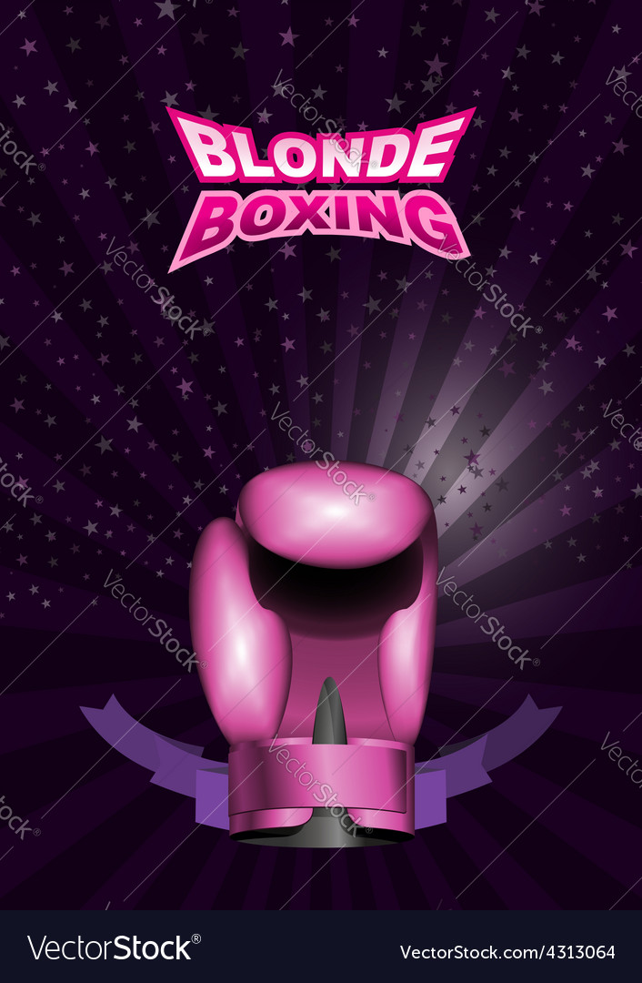 Womens boxing gloves pink sport background with