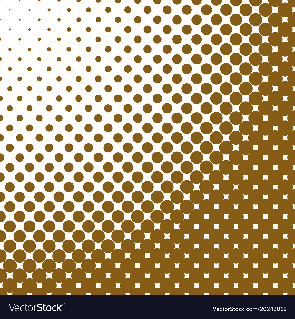 Geometrical abstract halftone circle pattern vector image