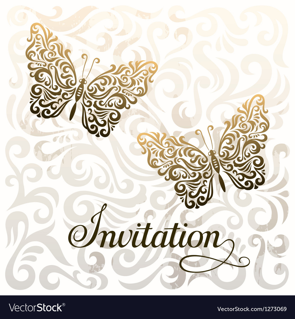 Invitation royalty free vector image vectorstock invitation vector image stopboris Images