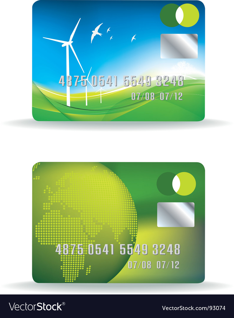 Eco credit card