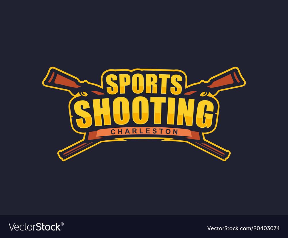 Modern professional logo emblem sports
