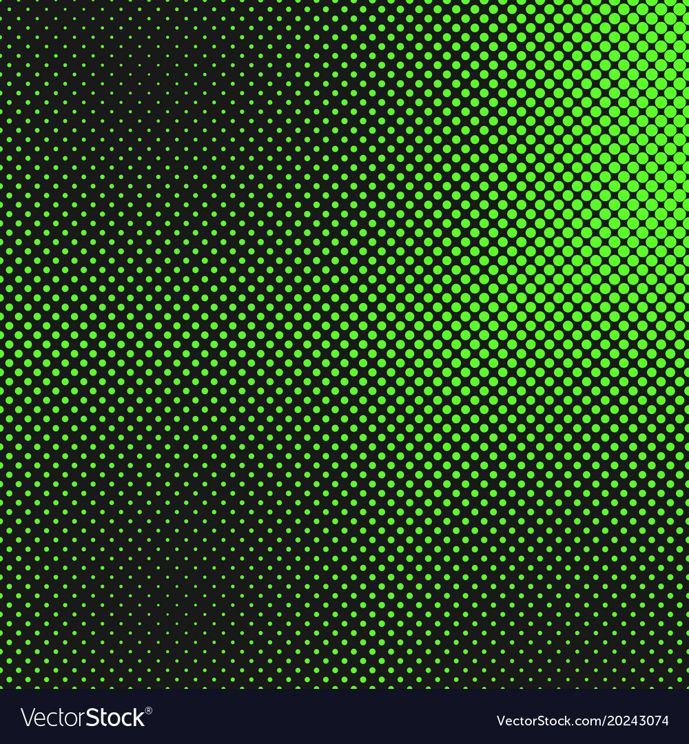 Retro halftone dot pattern background from circles
