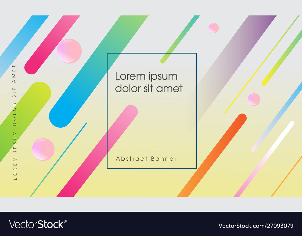 Colorful trendy abstract background