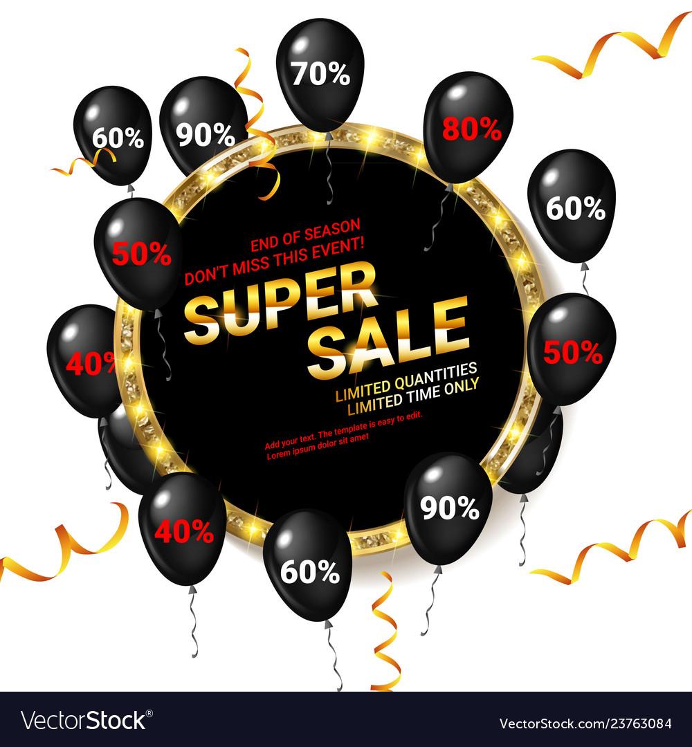 Black balloons super sale