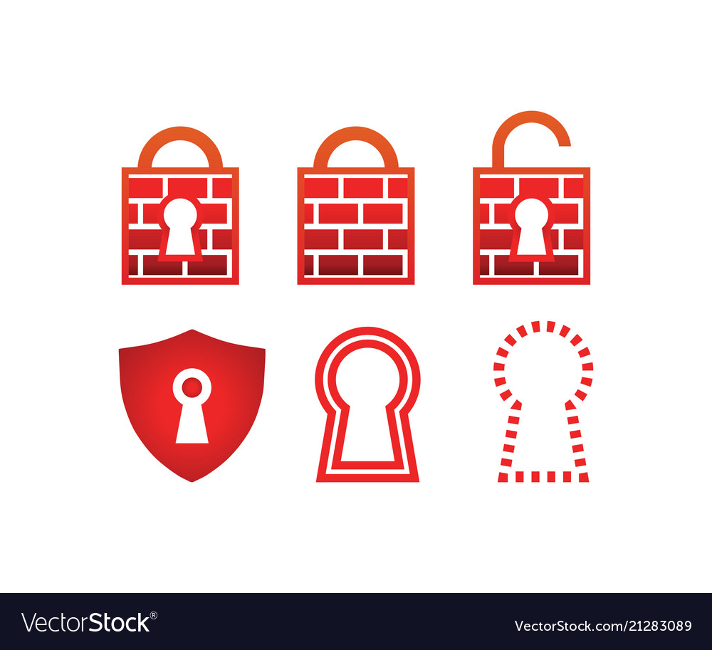Collection of padlock firewall