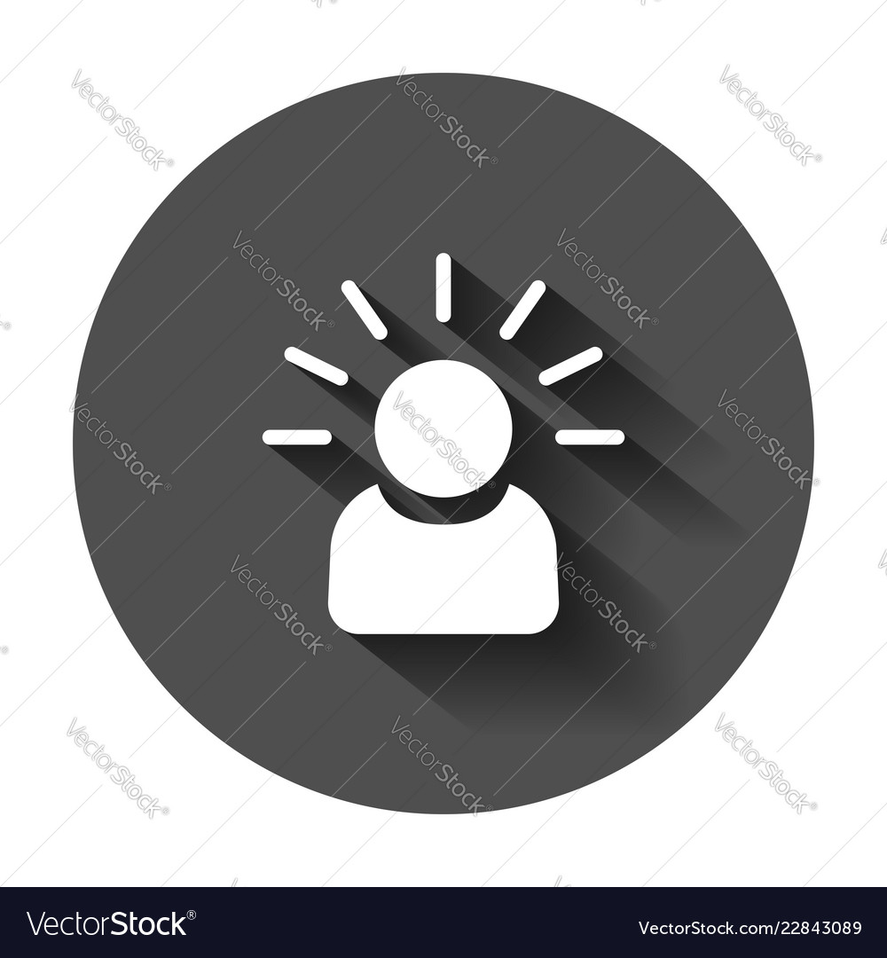 e016006858c Mind people icon in flat style human frustration Vector Image