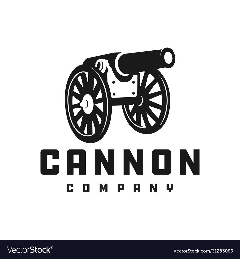 Silhouette cannon logo