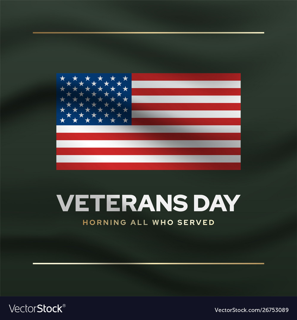 Veterans memorial day social media banner template