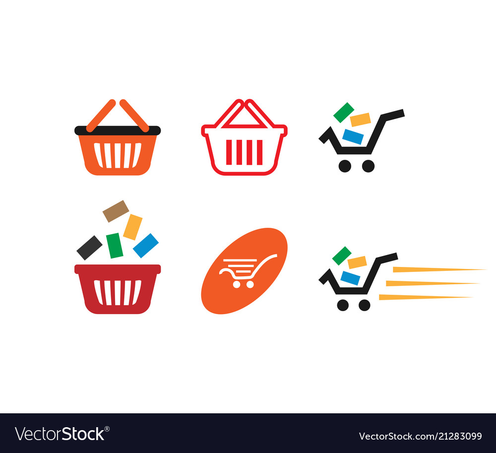 Collection of shopping cart template