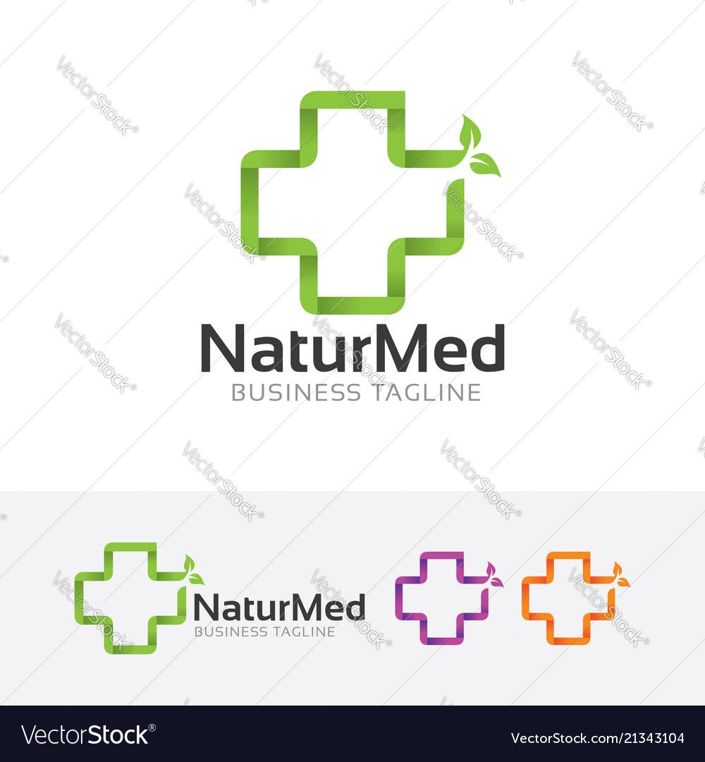 Natural medical logo