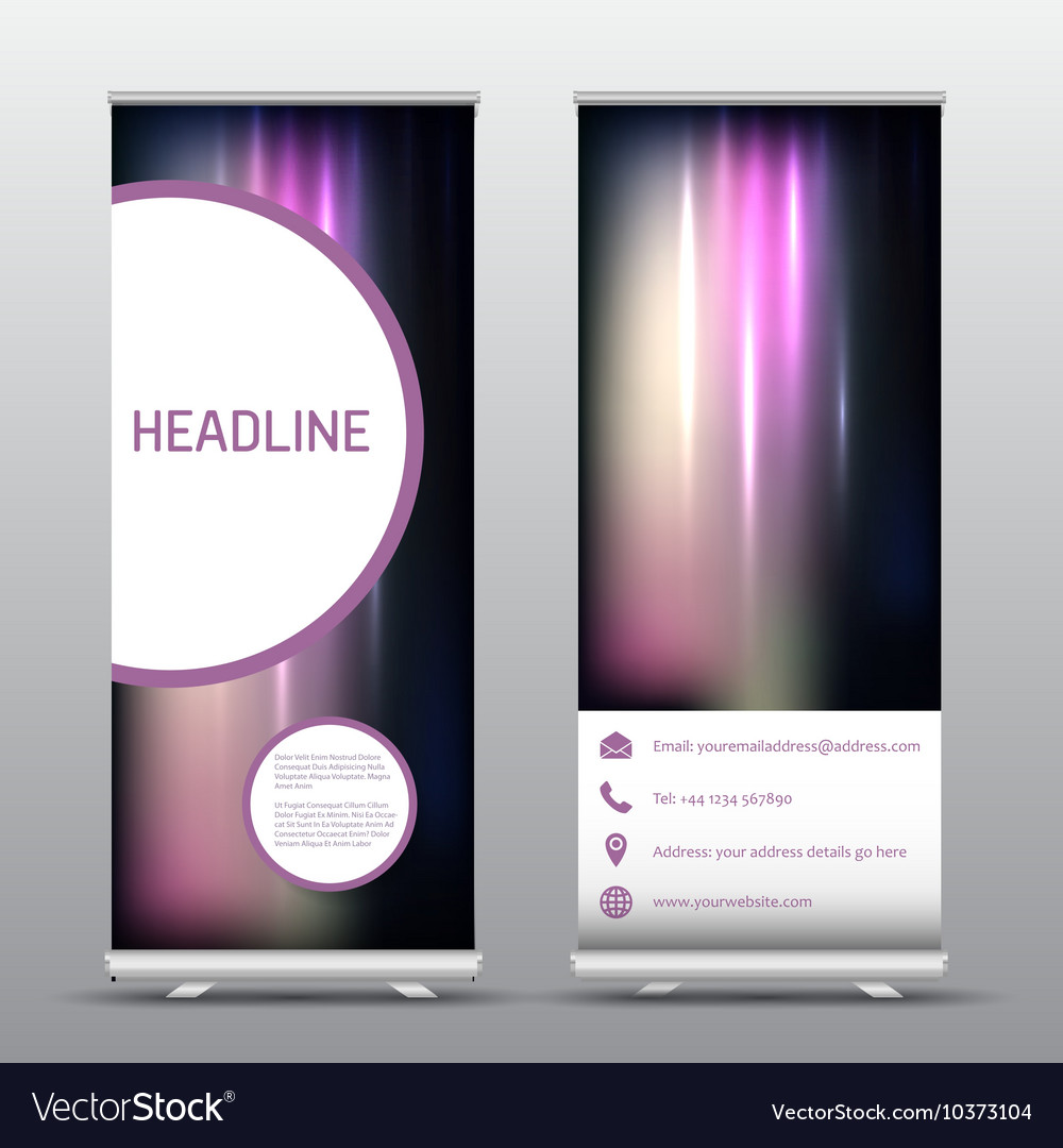 Roll up advertising banners 0507