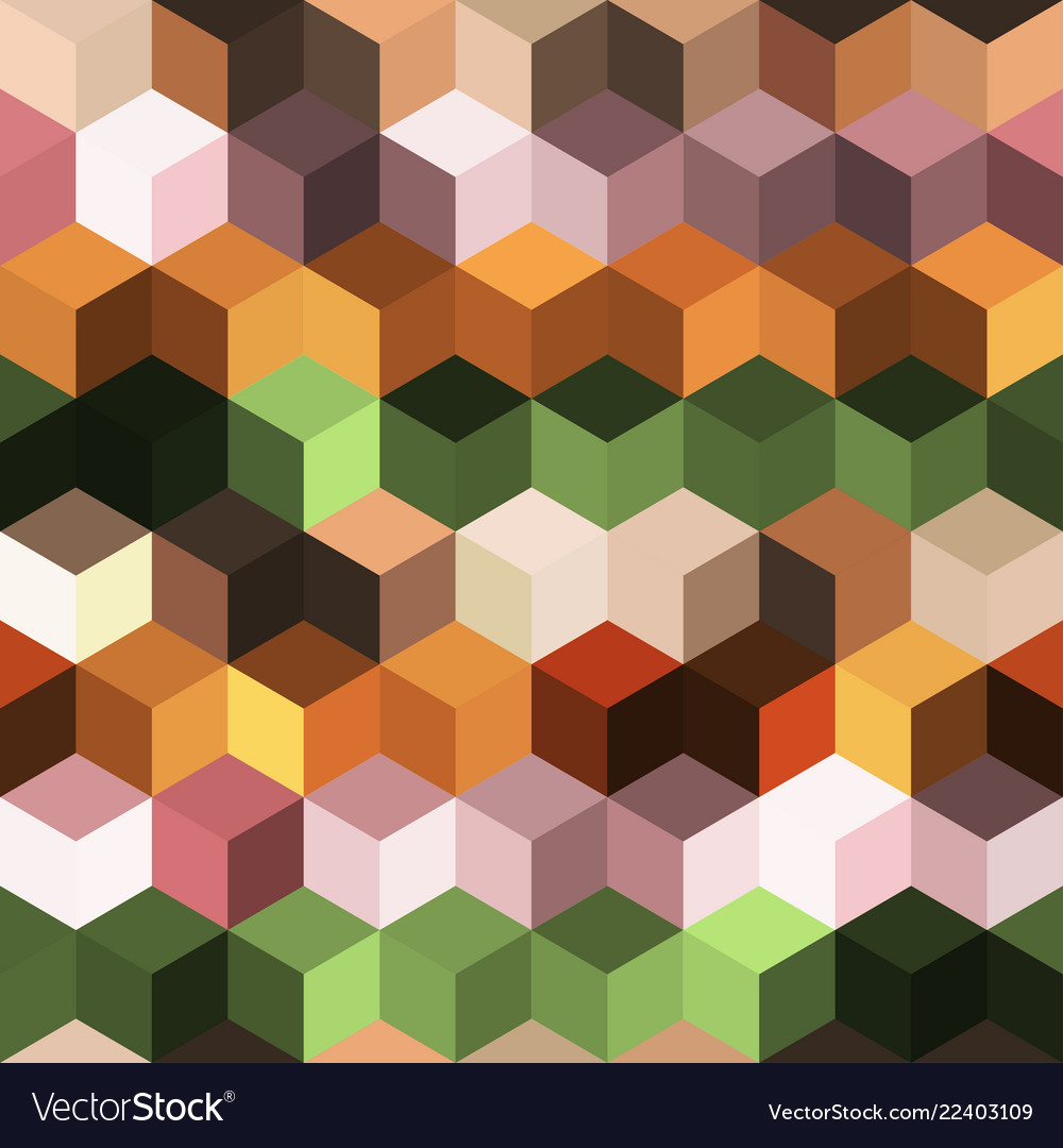 Hexagon grid seamless background