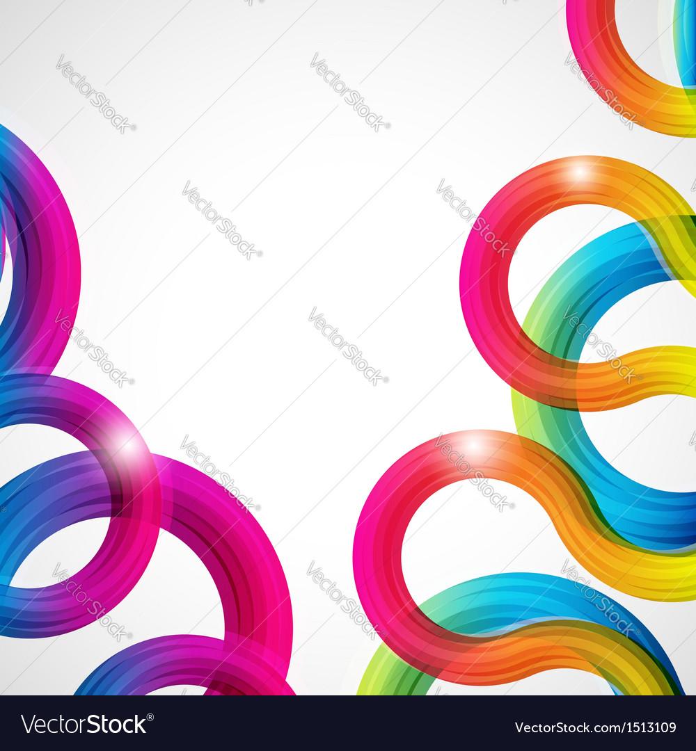 Rainbow curls