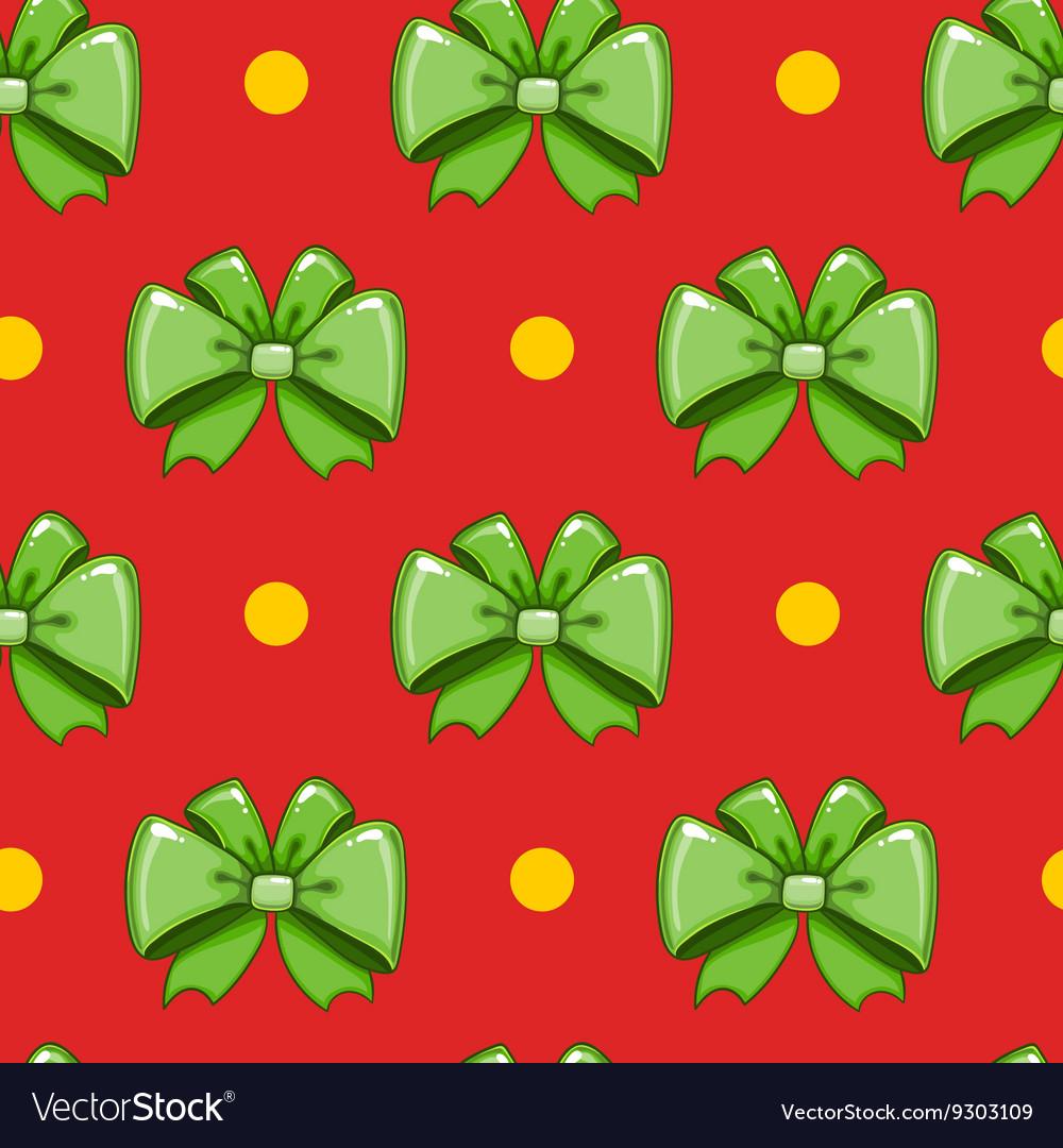 Seamless pattern cute cartoon bows-6