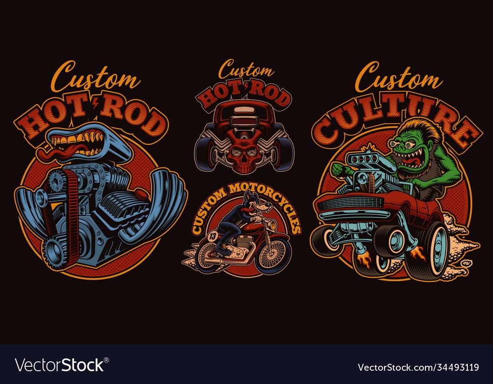 A bundle vintage for hot rod theme