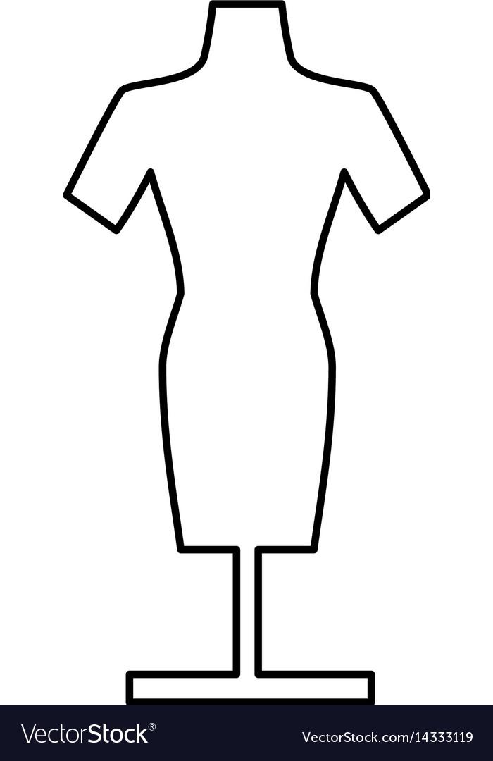 Manikin model clothes