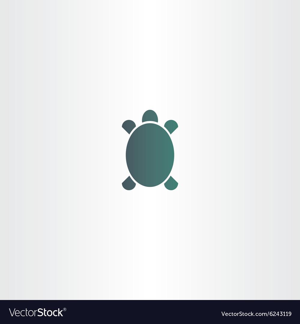 d5dd47b10 Turtle logo sign element symbol Royalty Free Vector Image