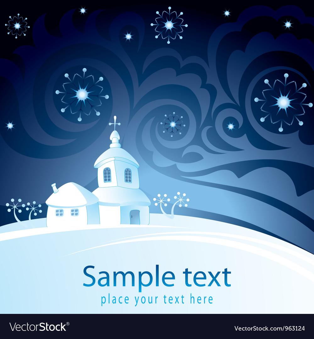Decorative Christmas-card