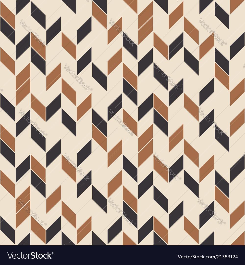 Retro seamless pattern random zigzag