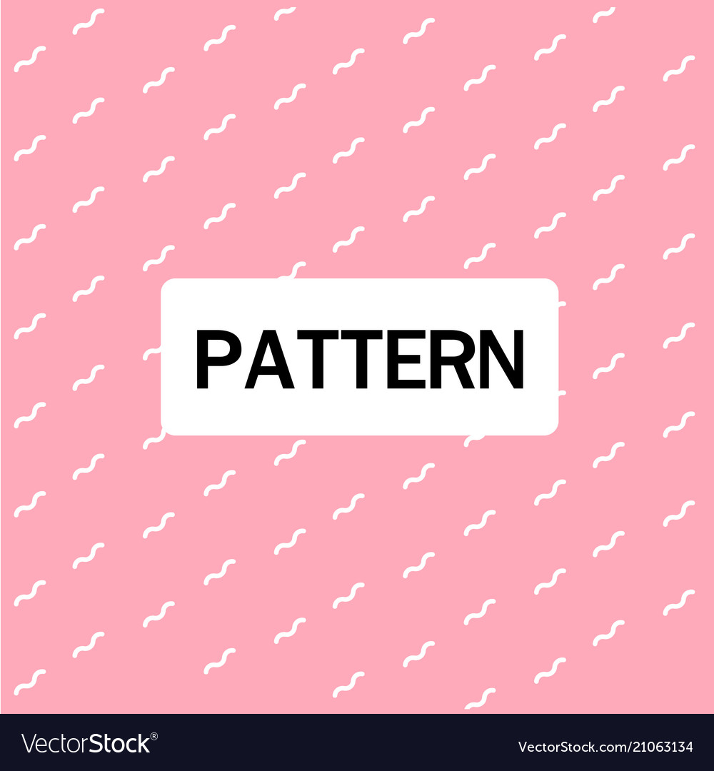 Abstract wavy lines pattern pink background