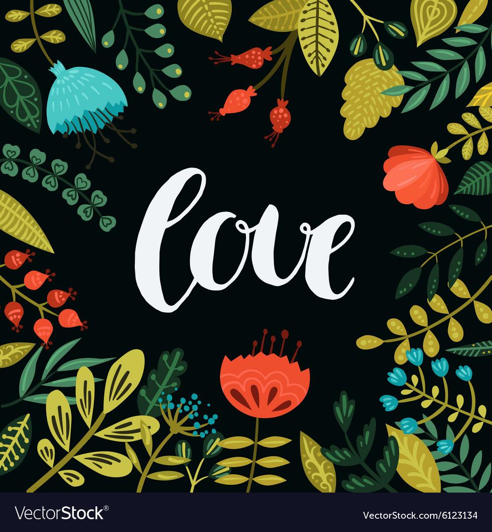 Inspirational love card
