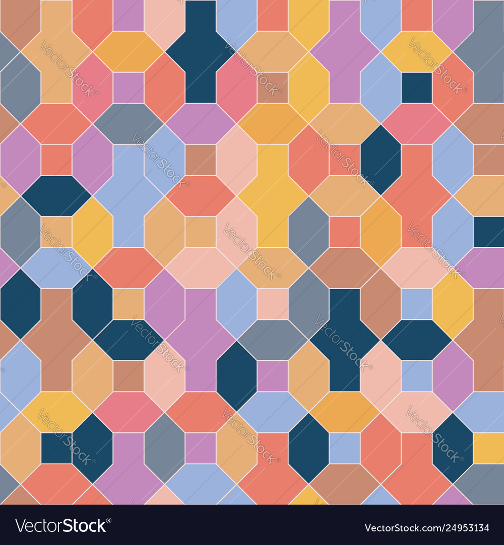 Positive energy color geometrical background