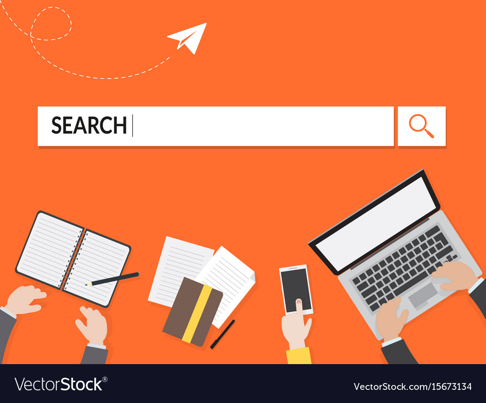 Search graphic for business