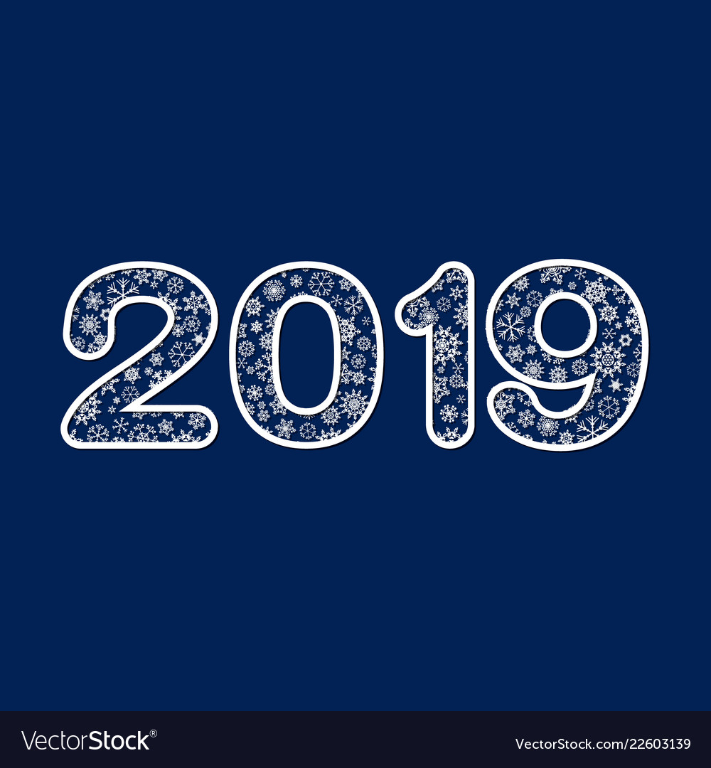2019 new year design