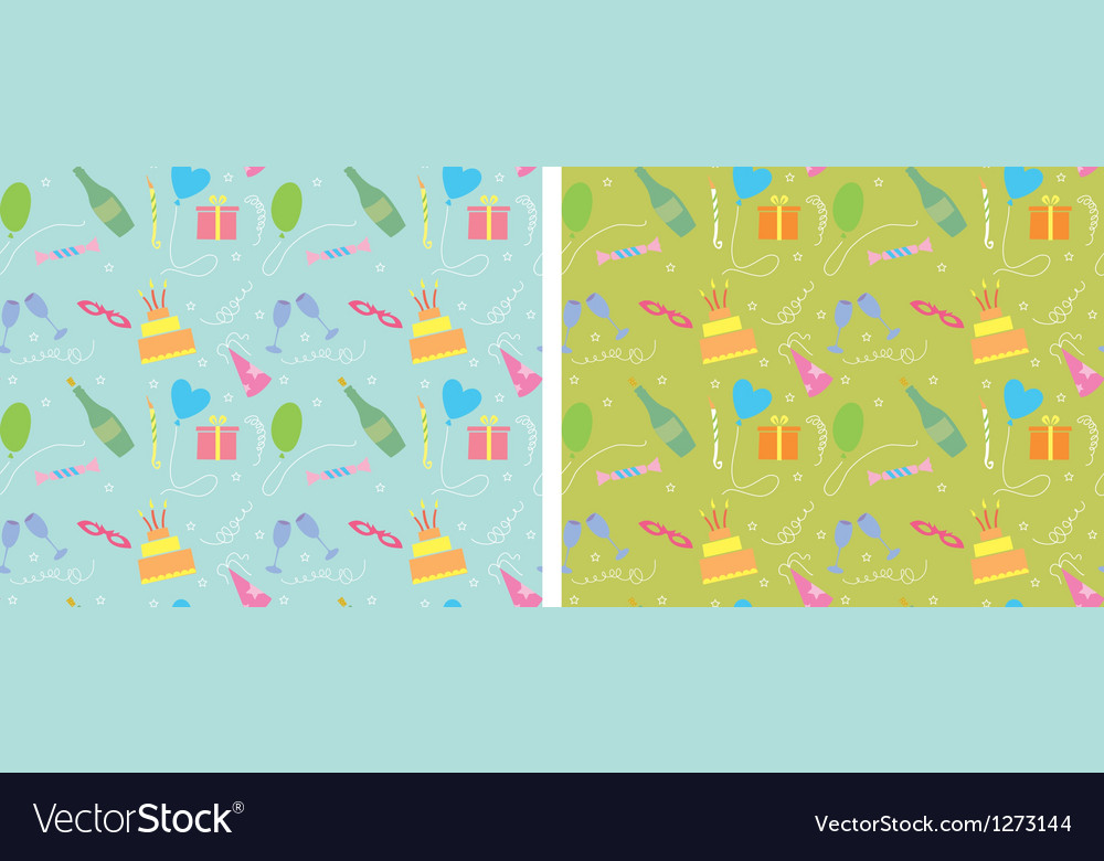 Holiday seamless pattern