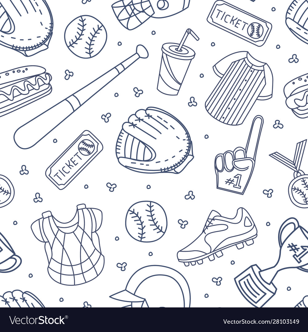 Baseball attributes used in seamless