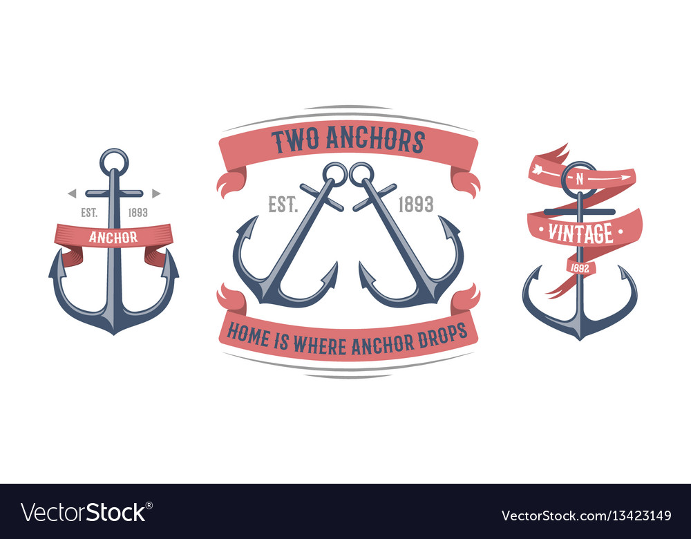 Fashion nautical and marine sailing themed label