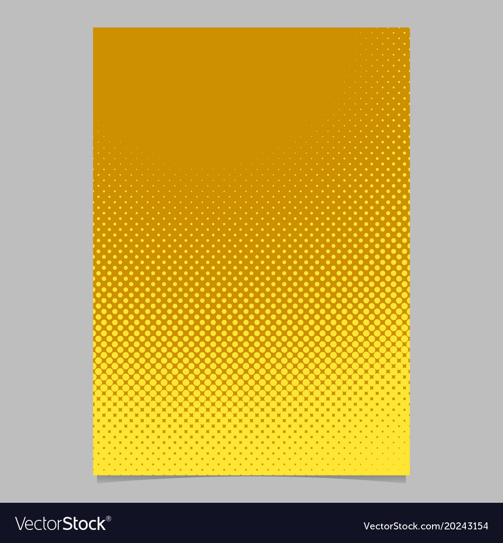 Halftone circle pattern background poster design