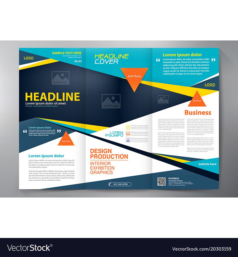 brochure 3 fold template