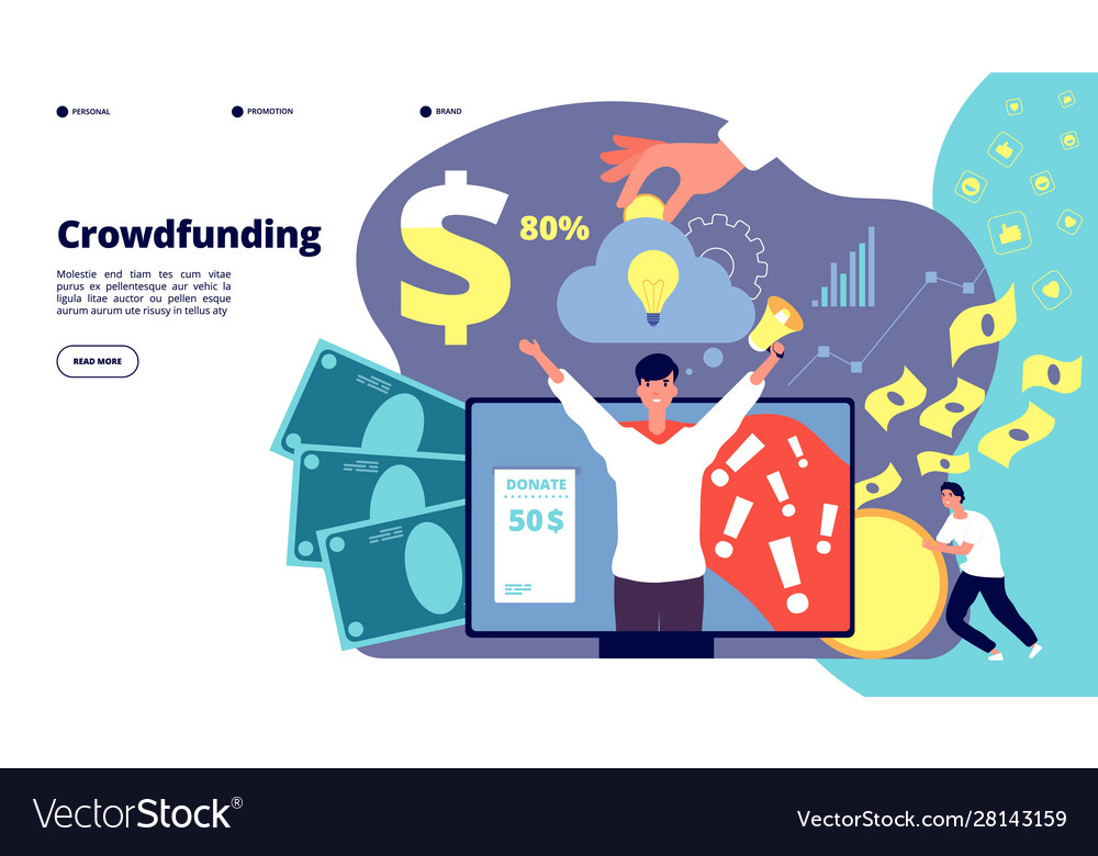 Crowdfunding startup financial investment