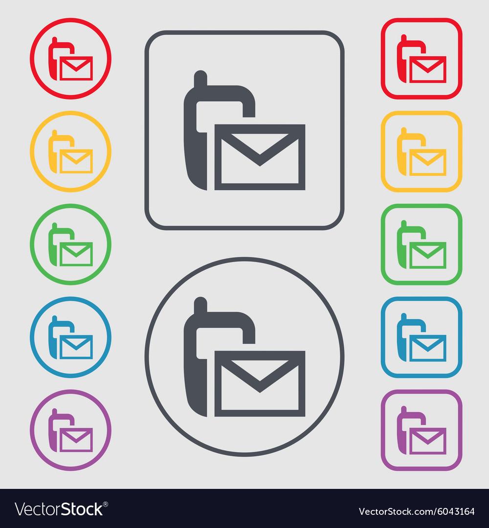 Mail Icon Envelope Symbol Message Sms Sign Symbols