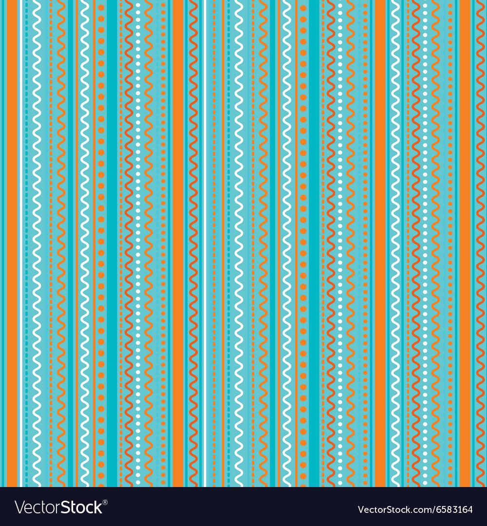 Pattern geometric ornaments vector image