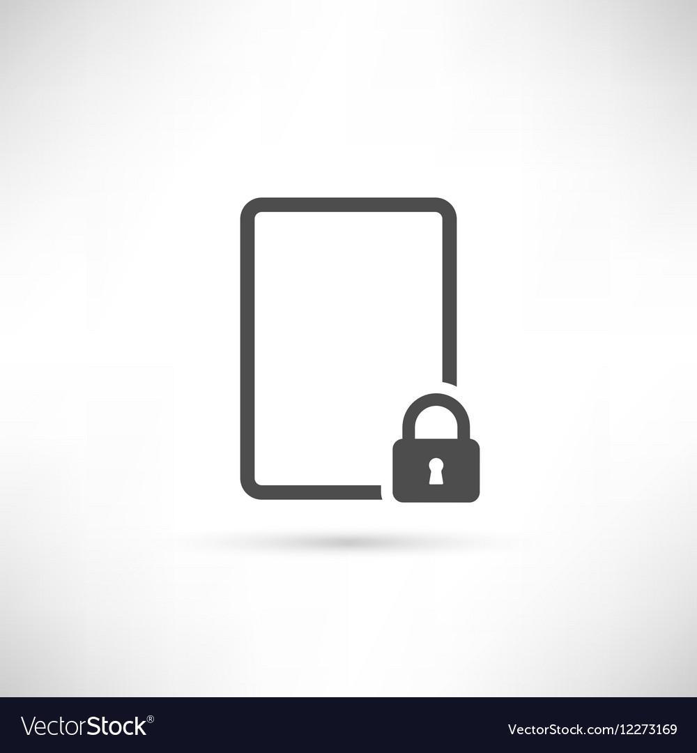 Emty Lock Icon