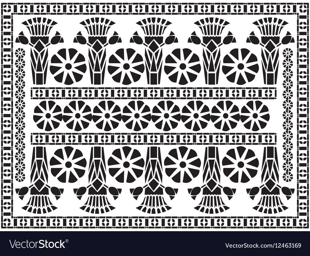 Greek pattern ornament