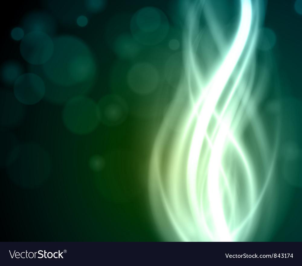 Abstract light beam