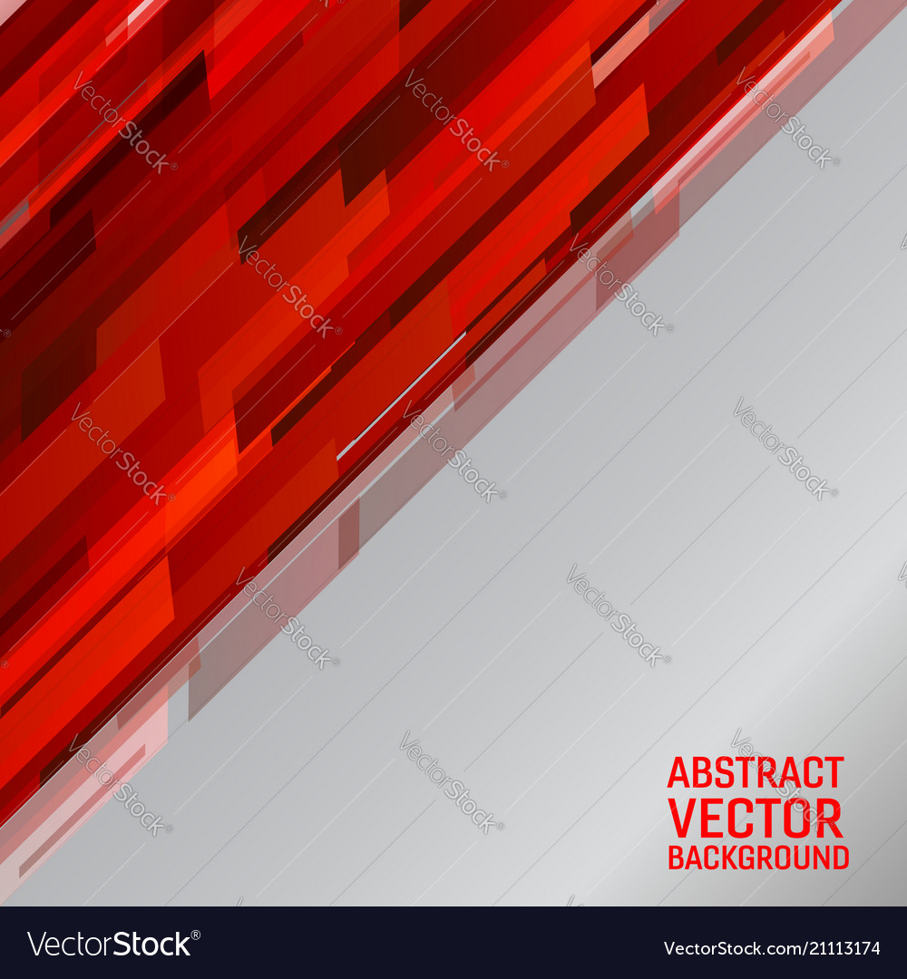 Geometric light red color graphic vector image
