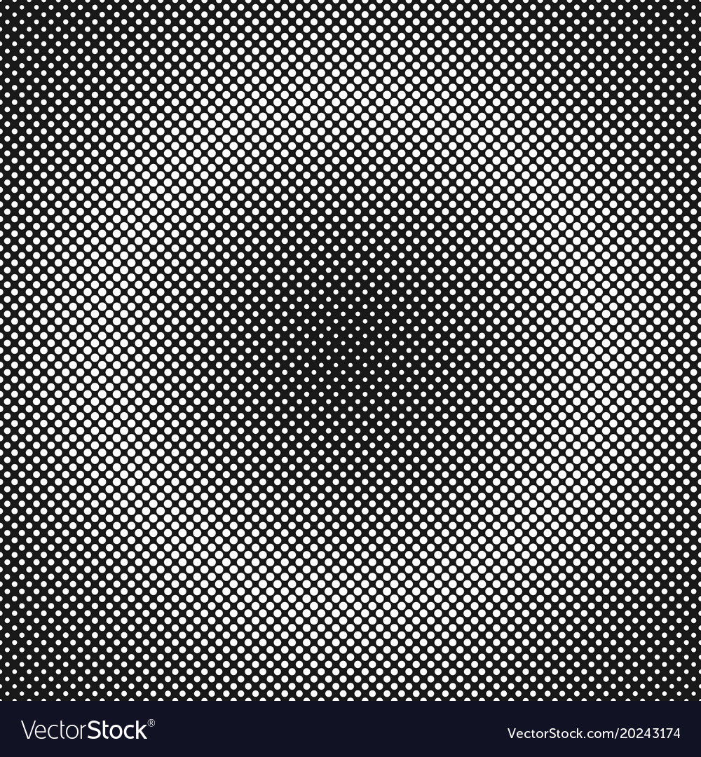 Halftone dot background pattern template - graphic