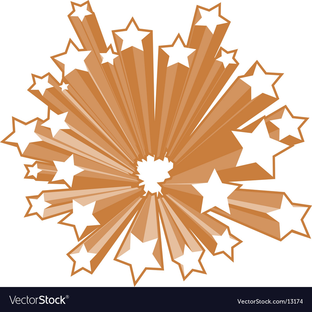 Star burst vector